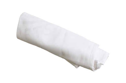 Chef's side towel - white