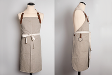 Load image into Gallery viewer, CHEF'S APRON - canvas with slits