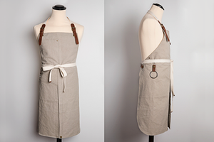 CHEF'S APRON - canvas with slits