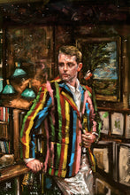 "Load image into Gallery viewer, Framed Sartorial Painting No.204 Jack Carlson Print, 16"" X 24"""