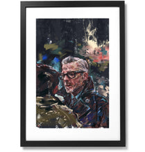 "Load image into Gallery viewer, Framed Sartorial Painting No.122 Mr.David Print, 16"" X 24"""
