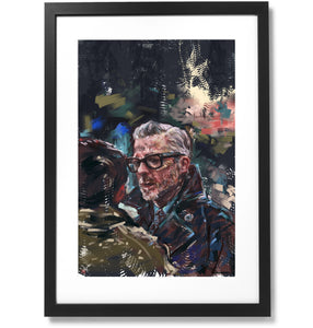 "Framed Sartorial Painting No.122 Mr.David Print, 16"" X 24"""