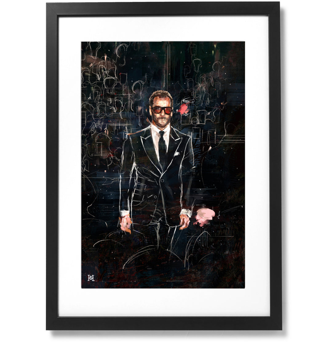 Framed Tom Ford Print, 16