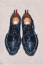 "Load image into Gallery viewer, Framed Thom Browne Pebble-Grain Leather Longwing Brogues Print, 16"" X 24"""