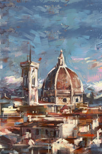 "Framed City Collection - Duomo di Firenze Print, 16"" X 24"""