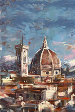 "Load image into Gallery viewer, Framed City Collection - Duomo di Firenze Print, 23"" X 35"""