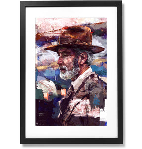 "Framed Sartorial Painting No.61 Print, 16"" X 24"""