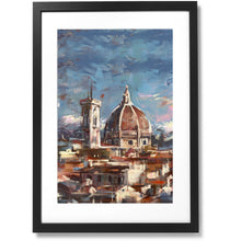 "Load image into Gallery viewer, Framed City Collection - Duomo di Firenze Print, 16"" X 24"""