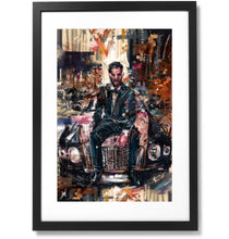 "Load image into Gallery viewer, Framed Sartorial Painting No.83 Matthew Zorpas Print, 16"" X 24"""