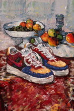 "Load image into Gallery viewer, Framed Fashion still life painting No.01 Nike Air Force 1 Print, 16"" X 24"""