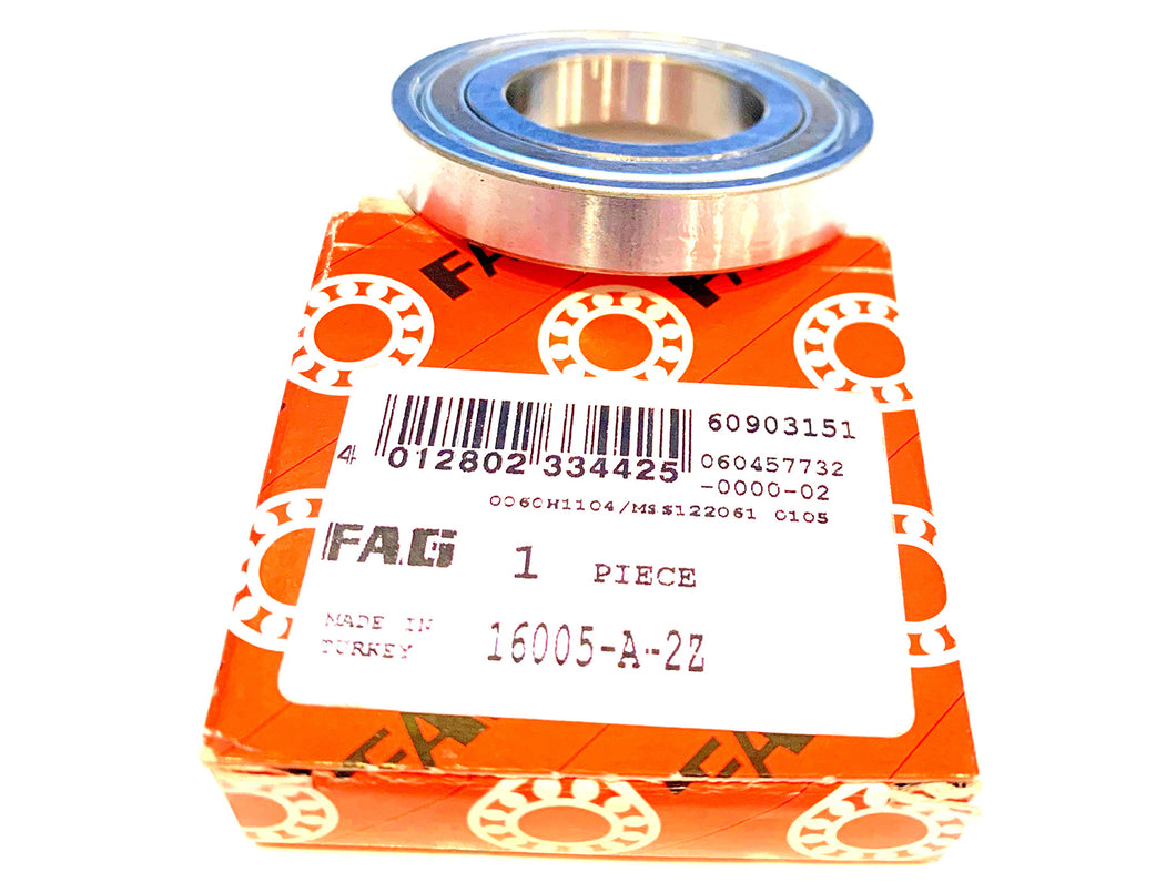 FAG Ball Bearing 16005-A-2Z - ppdistributors