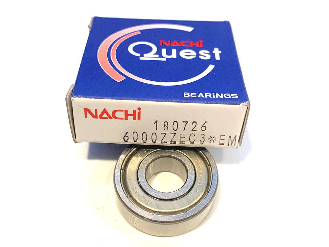 6000-ZZE C3 NACHI Ball Bearing - ppdistributors
