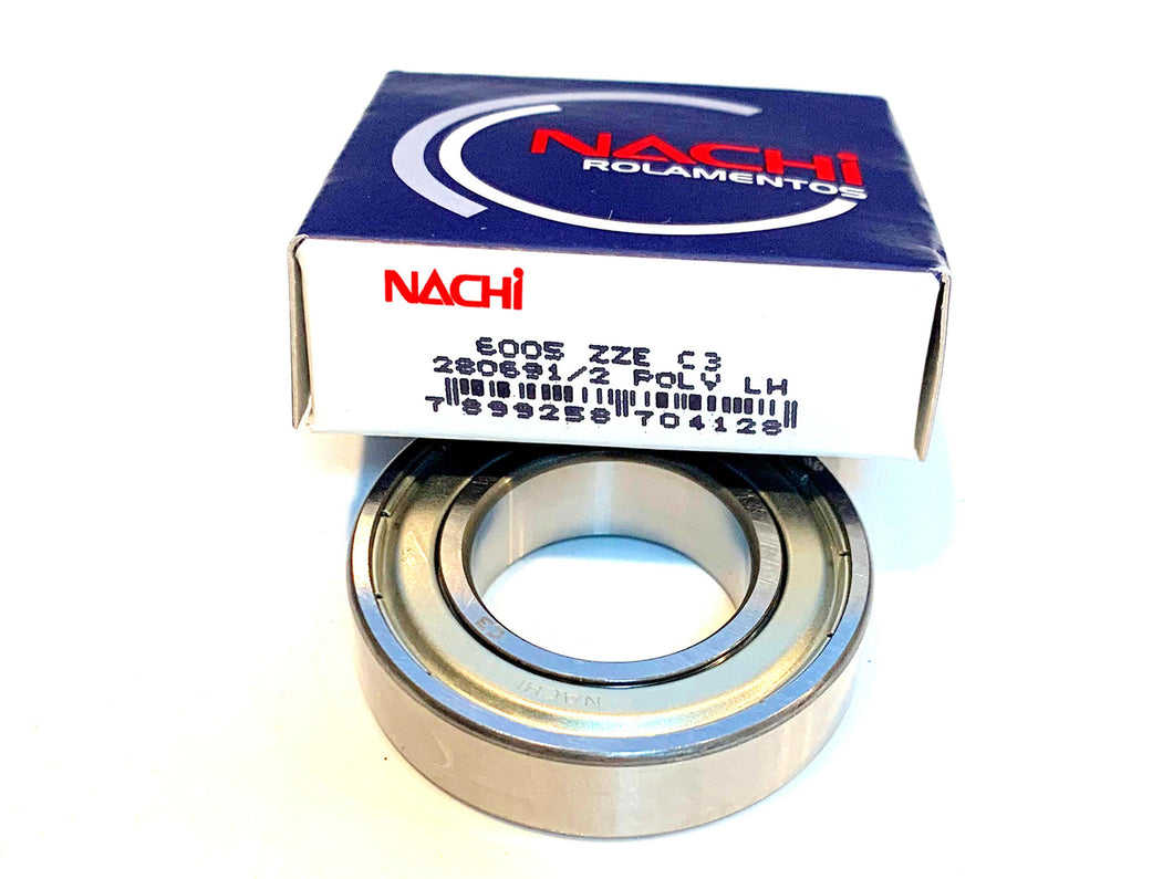 6005-ZZE C3 NACHI Ball Bearing - ppdistributors