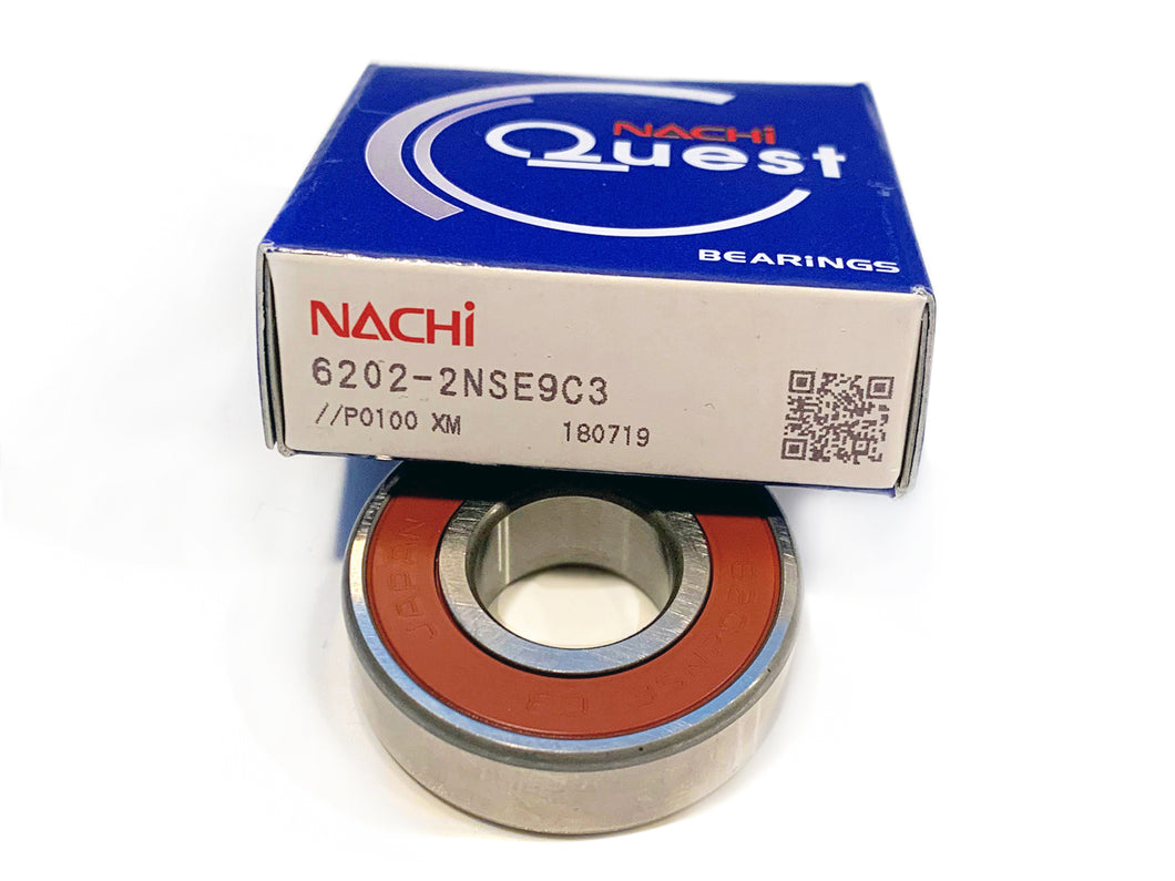 6202-2NSE9 C3 NACHI Ball Bearing - ppdistributors
