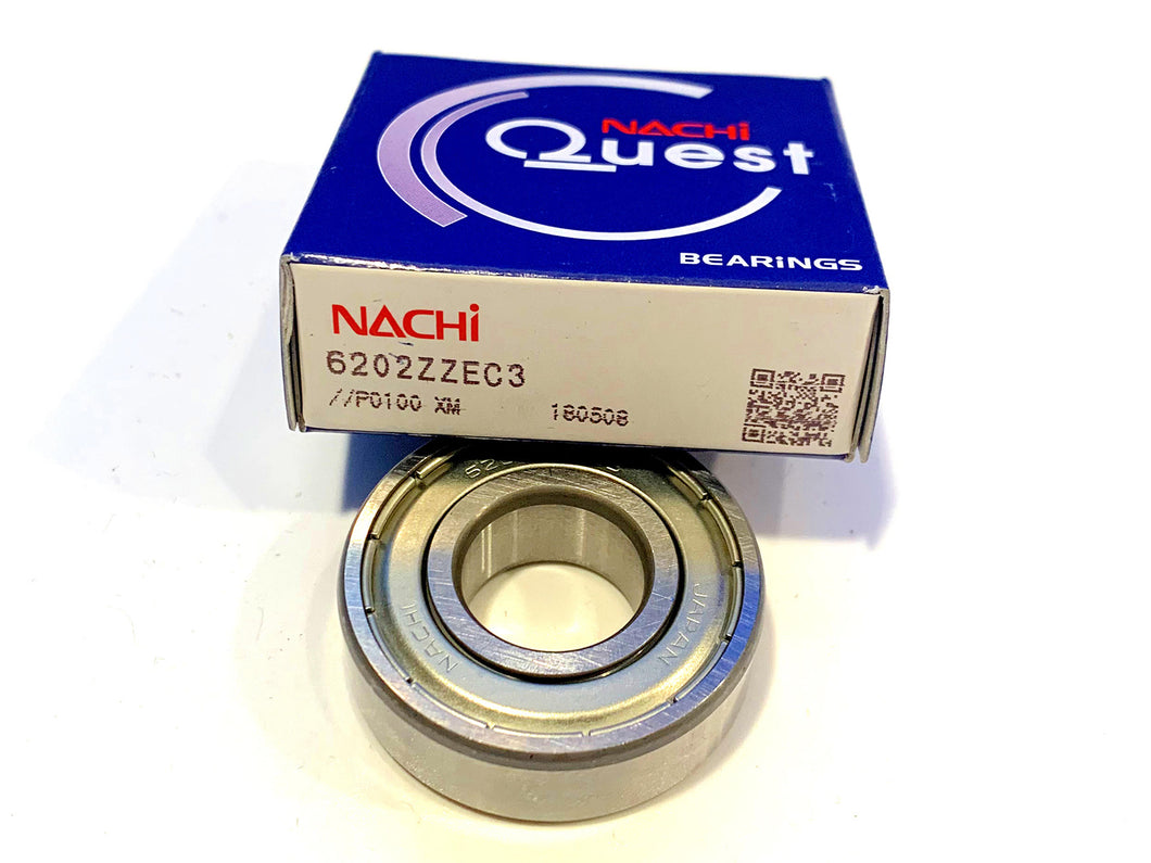 6202-ZZE C3 NACHI Ball Bearing - ppdistributors