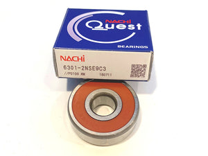 6301-2NSE9 C3 Nachi Ball Bearing - ppdistributors