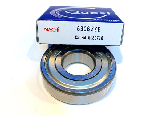 6306-ZZE C3 Nachi Ball Bearing - ppdistributors