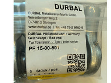 Load image into Gallery viewer, PF 15-00-501 Durbal Rod End - ppdistributors