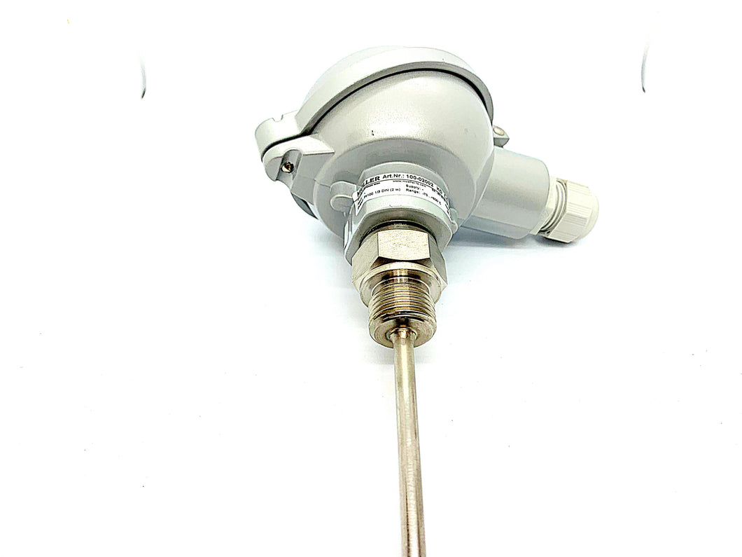Muller temperature sensor Part number PT 100 - ppdistributors