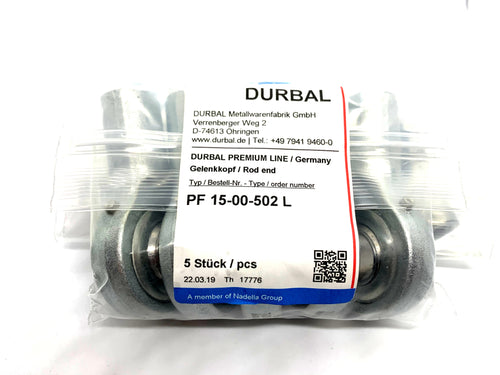 Durbal Rod Ends PF 15-00-502 L - ppdistributors