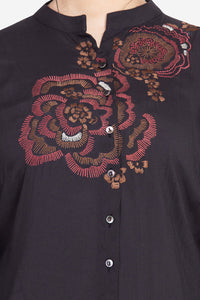 "Qaliy ""Ophelia"" Custom Embroidered Shirt"