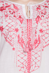 "Qaliy ""Xantha"" Embroidered Tunic"