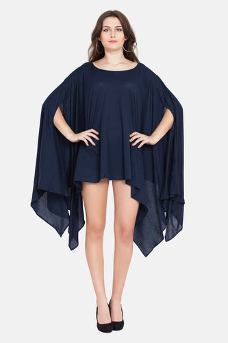 "Qaliy ""Serenity"" Draped Pull on Wrap"