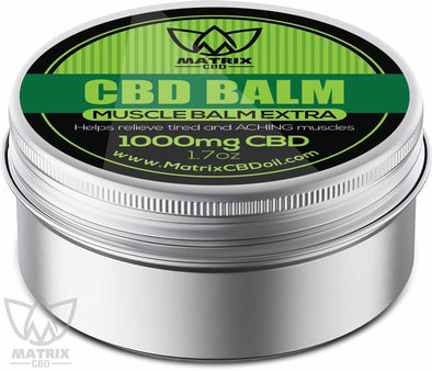 1,000mg Matrix CBD Balm Cream-Matrix CBD Oil