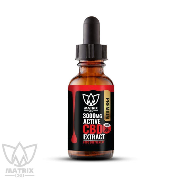 10ml - 30% Matrix CBD Oil 3,000mg