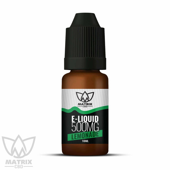 500mg - 10ml Matrix Lemonade CBD Vape E-Liquid