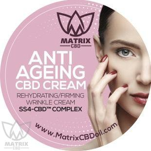 600g Matrix SS4-CBD Anti Ageing Cream-Matrix CBD Oil