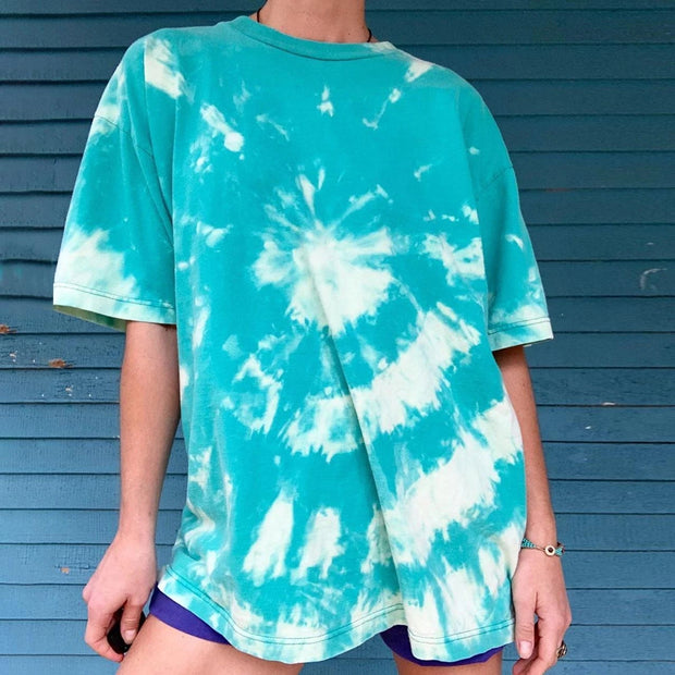 Latest Tie Dye Half Sleeve Tee