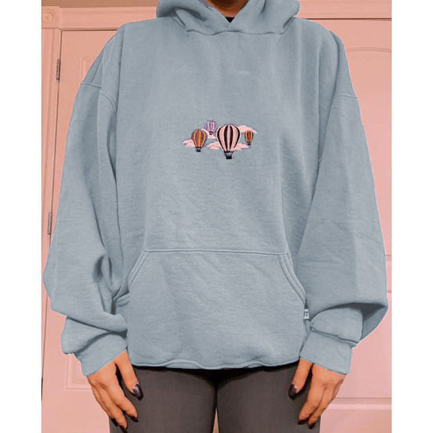 Hooded everyday casual sweatshirt