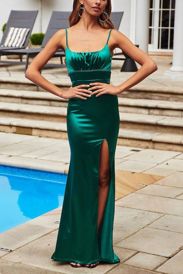 LOVE WITHOUT END MAXI DRESS EMERALD