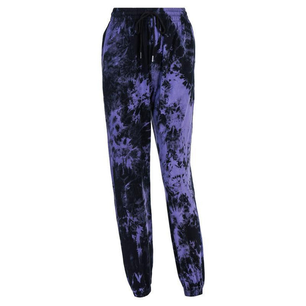 Camouflage casual tie-dye wild cotton trousers