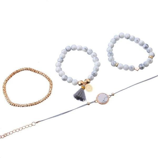 THE BOHEMIAN BRACELET SET (4PCS/SET)