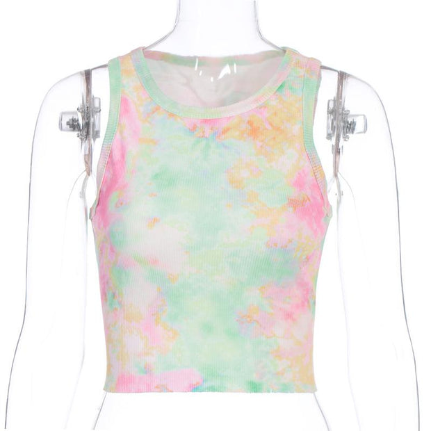 Women's Tie Dye Casual T-shirt