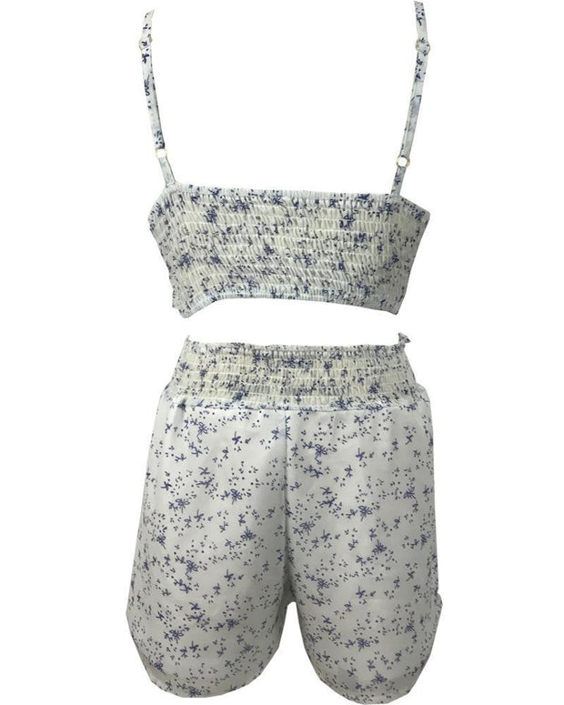 Summer Printed two-piece sets