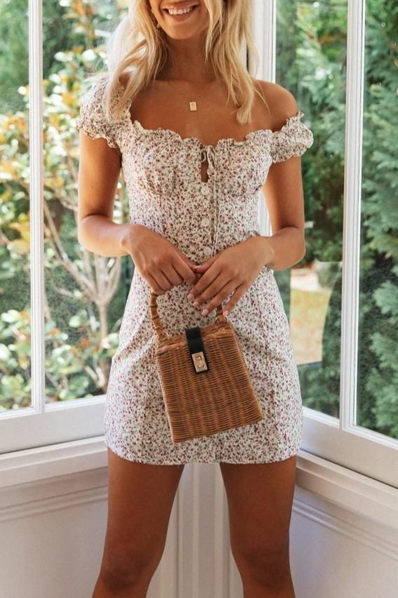 Women Holiday Strap Neck mini Dress