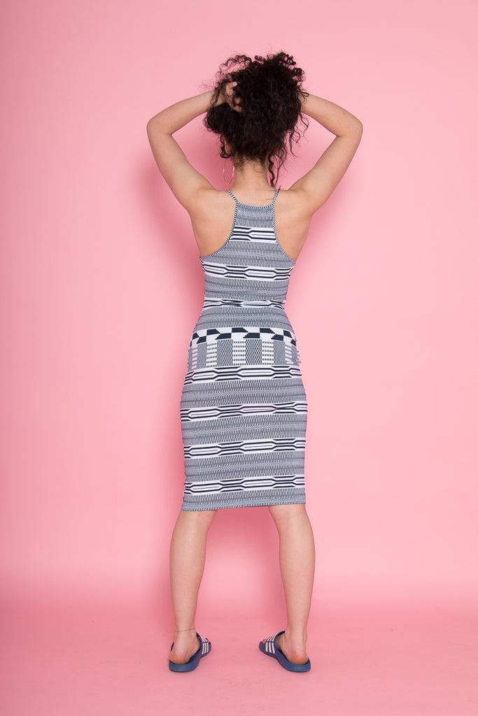 Eka Racer Back Dress in Kentii