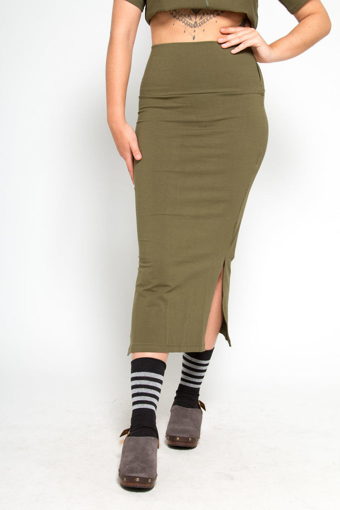 Kafu Midi Skirt in Jungle