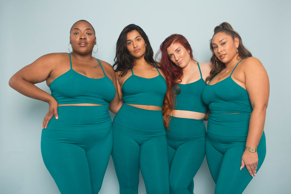 Super High Waisted Tib Pant in Emerald
