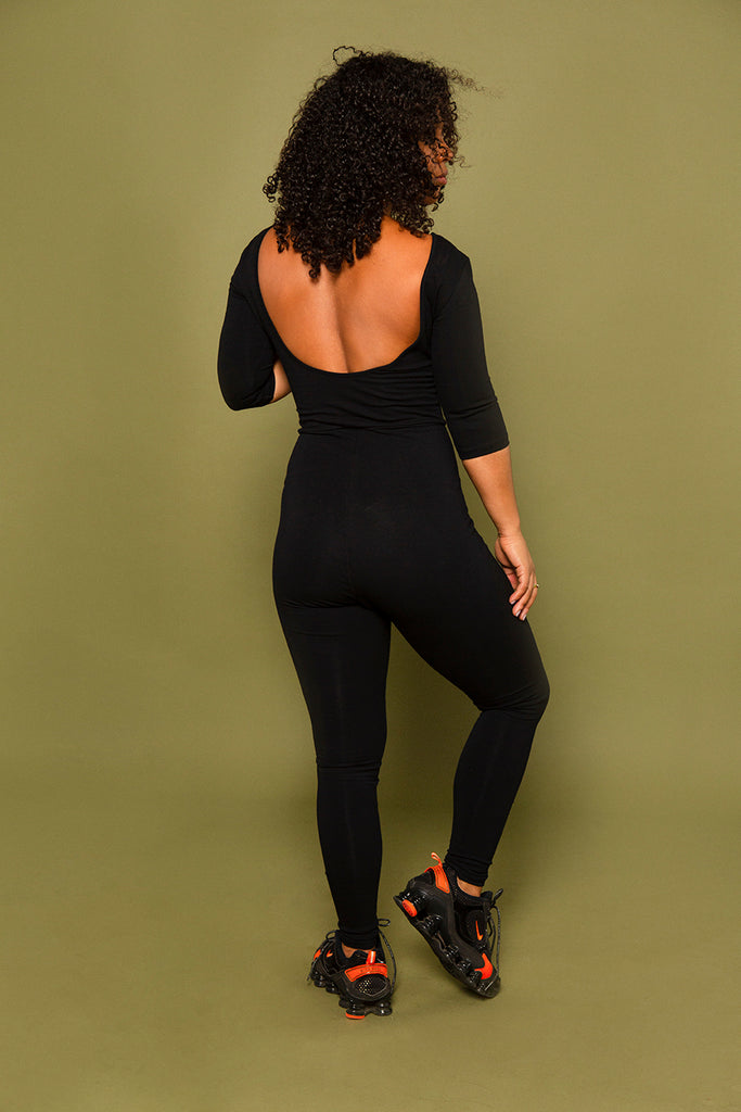 Tbang Jumpsuit in Blackest