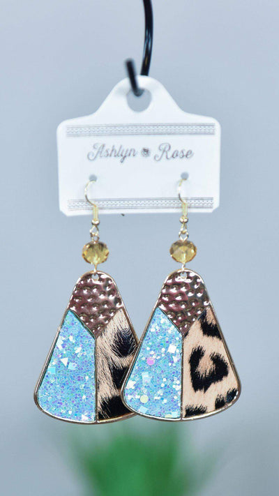 The ZigZag Stripe Southern Grace Earrings Mint Southern Royalty Earrings