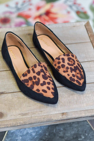 The Leopard Journal Flats-The ZigZag Stripe