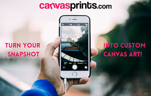 Use Your Smartphone Snapshots to Create Custom Canvas Prints