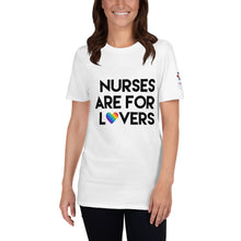 Load image into Gallery viewer, Nurses are for Lovers Short-Sleeve Unisex T-Shirt