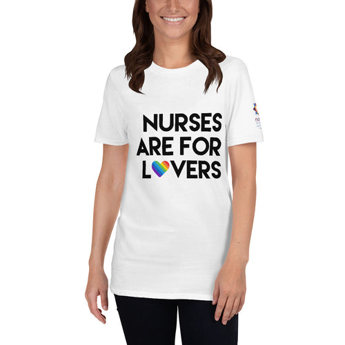 Nurses are for Lovers Short-Sleeve Unisex T-Shirt