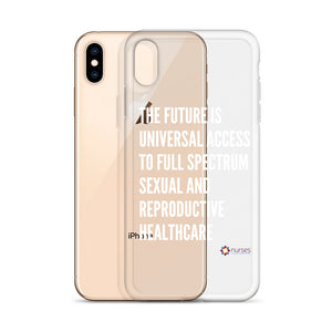 The Future iPhone Case - White Text