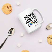 Load image into Gallery viewer, Nurses are for Lovers Mug